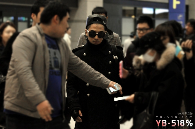 121201 Incheon Airport (from Hong Kong)